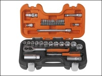Bahco Reversible Ratchet Spanner Metric Set S4RM//3T 8mm 19mm BAHS4RM3T