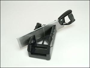 Stanley Saw Storage Mitre Box With Saw 1-19-800 - STA119800